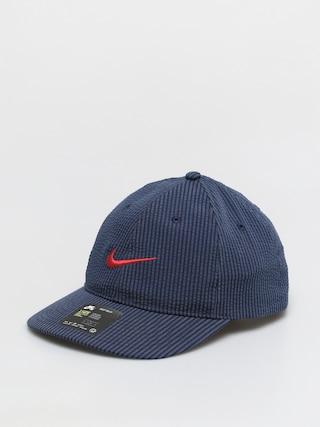 Czapka z daszkiem Nike SB H86 Flatbill Seersucker (midnight navy/university red)