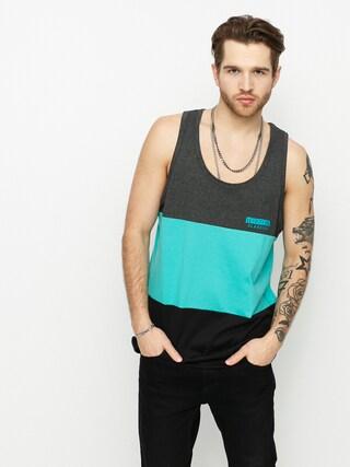 Koszulka MassDnm Zone (dark heather/turquoise/black)