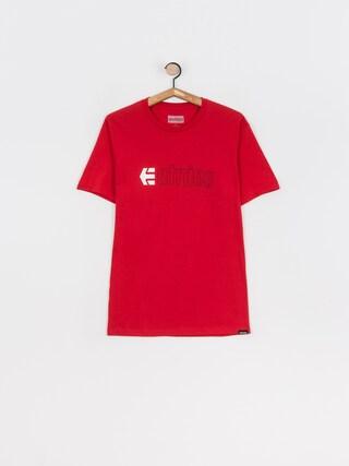 T-shirt Etnies Ecorp (red/black)