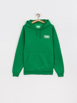 Bluza z kapturem Etnies Quality Control HD (green/white)