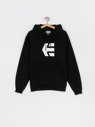 Bluza z kapturem Etnies Classic Icon HD (black/white)