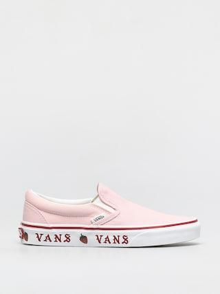 Buty Vans Classic Slip On (sidewall print blushing bride/strawberry)