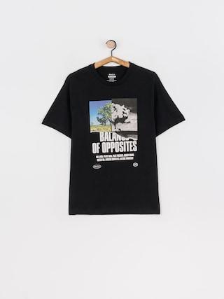 T-shirt RVCA Split Truth (black)