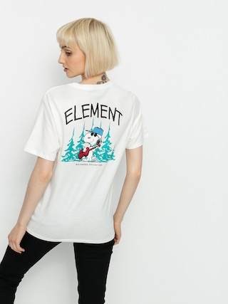T-shirt Element Peanuts Good Times Wmn (off white)
