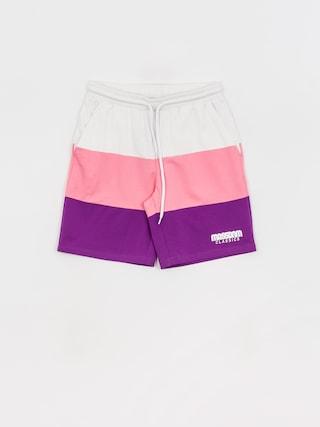 Szorty MassDnm Zone (white/light pink/purple)