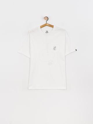 T-shirt Emerica Spanky Pocket (white)
