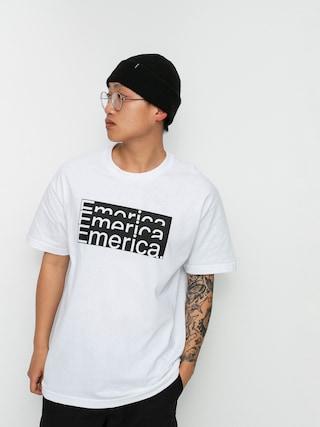 T-shirt Emerica Stacked Bar (white)