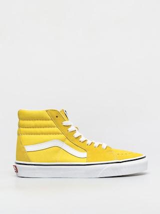 Buty Vans Sk8 Hi (cyber yellow/true white)
