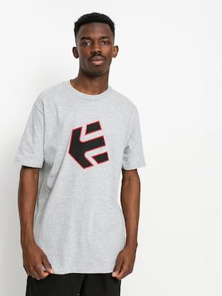 T-shirt Etnies Crank (grey/black/red)