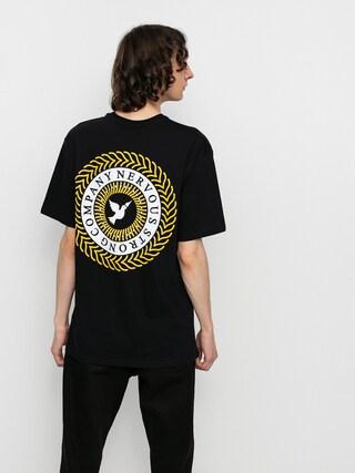 T-shirt Nervous Swirl (black)