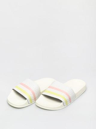 Klapki adidas Originals Adilette Wmn (owhite/yeltin/pnktin)