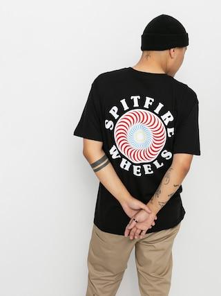 T-shirt Spitfire Og Clsc Fill (black/red)
