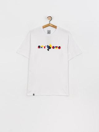 T-shirt Nervous Geo (white)