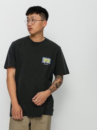 T-shirt Rip Curl Mind Wave Logo (washed black)