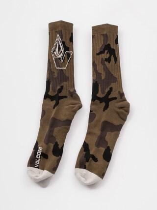 Skarpetki Volcom Vibes Socks (military)