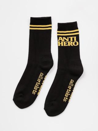 Skarpetki Antihero Blkhero If Found (black/yellow)