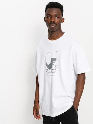 T-shirt Pizza Skateboards Pizza X Free Wifi (white)