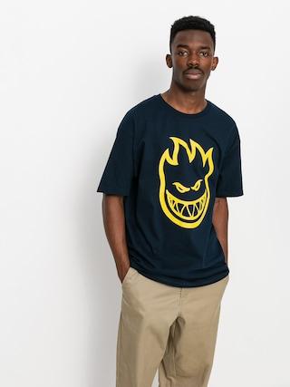 T-shirt Spitfire Bighead (navy/yellow)
