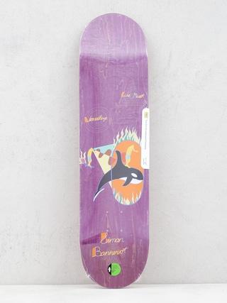 Deck Girl Skateboard Bannerot Visualize Purple W41 (purple)