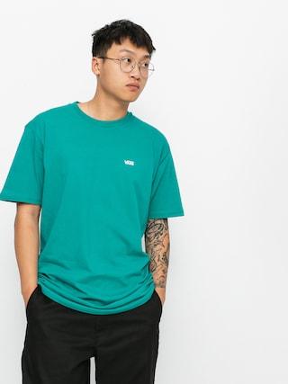 T-shirt Vans Left Chest Logo (porcelain green/white)