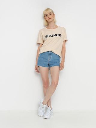 T-shirt Element Element Logo Wmn (white smoke)