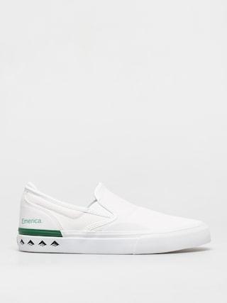 Buty Emerica Wino G6 Slip On (white/green)