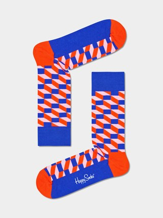 Skarpetki Happy Socks Filled Optic (blue/red)