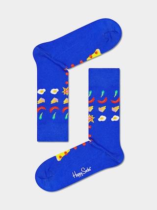 Skarpetki Happy Socks Pizza Invaders (blue)