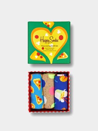 Skarpetki Happy Socks Pizza Loves Gift Set 3Pk (multi)