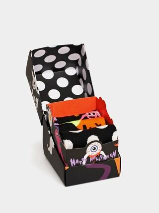 Skarpetki Happy Socks Halloweens Gift Set 3Pk (black/orange)