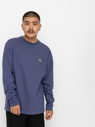 Longsleeve Carhartt WIP Chase (cold viola/gold)