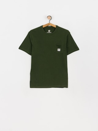 T-shirt Element Basic Pocket Label (olive drab)