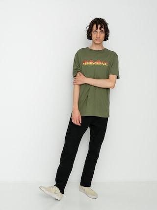 T-shirt Quiksilver Primary Colours (four leaf clover)