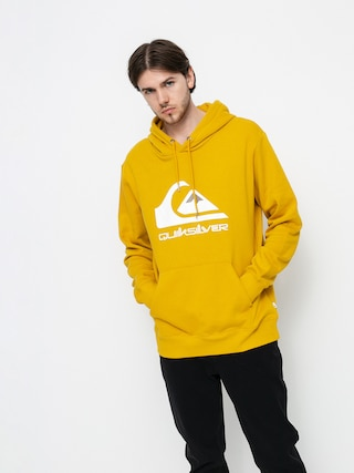 Bluza z kapturem Quiksilver Big Logo HD (nugget gold)