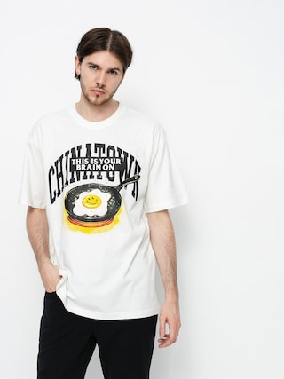 T-shirt Chinatown Market Smiley Brain On Fried (cream)