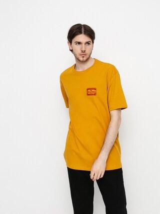 T-shirt Brixton Quill (antique gold)