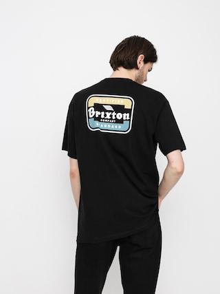 T-shirt Brixton Quill (black/blue)