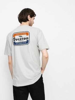 T-shirt Brixton Quill (silver)