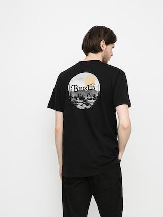 T-shirt Brixton Wheeler II (black/blonde)