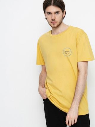 T-shirt Brixton Wheeler II (blonde)