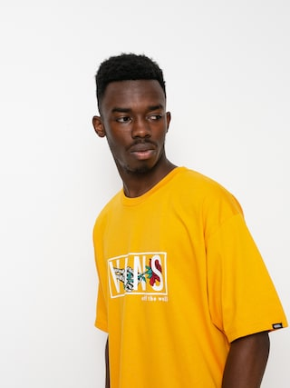 T-shirt Vans Thorned (golden glow)