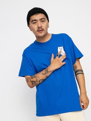 T-shirt RipNDip Lord Nermal Pocket (royal)