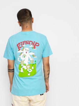 T-shirt RipNDip Flower Power (baby blue)