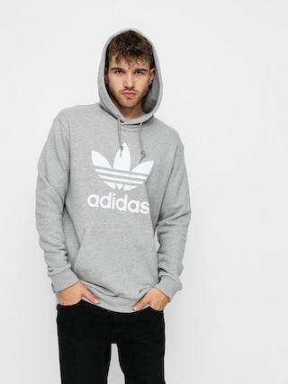Bluza z kapturem adidas Originals Trefoil HD (mgreyh/white)
