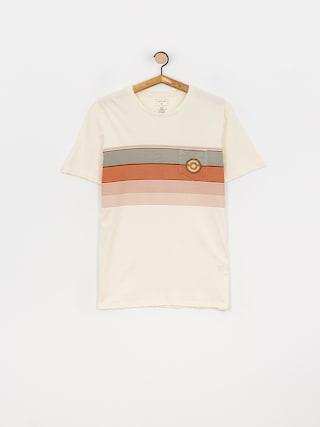 T-shirt Quiksilver New Stripes (antique white)