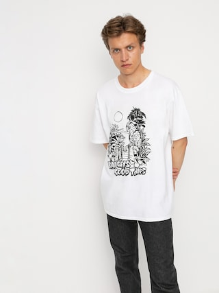 T-shirt HUF Vacation UV Color (white)