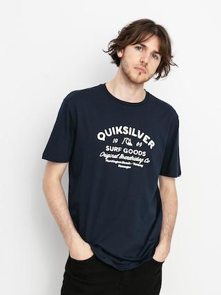 T-shirt Quiksilver Closed Caption (navy blazer)