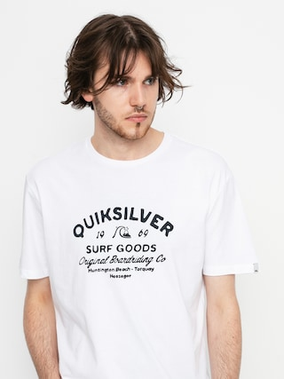 T-shirt Quiksilver Closed Caption (white)