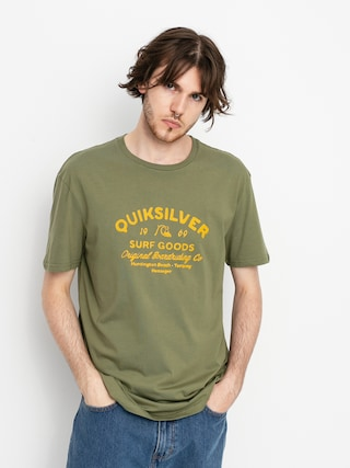 T-shirt Quiksilver Closed Caption (four leaf clover)