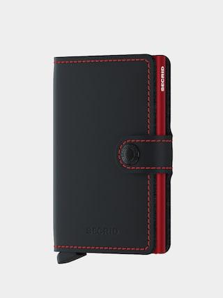 Portfel Secrid Miniwallet (matte black & red)
